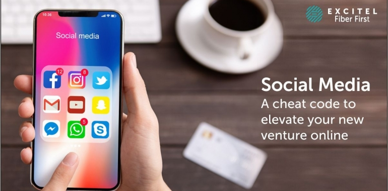 Social Media: A cheat code to elevate your new venture online