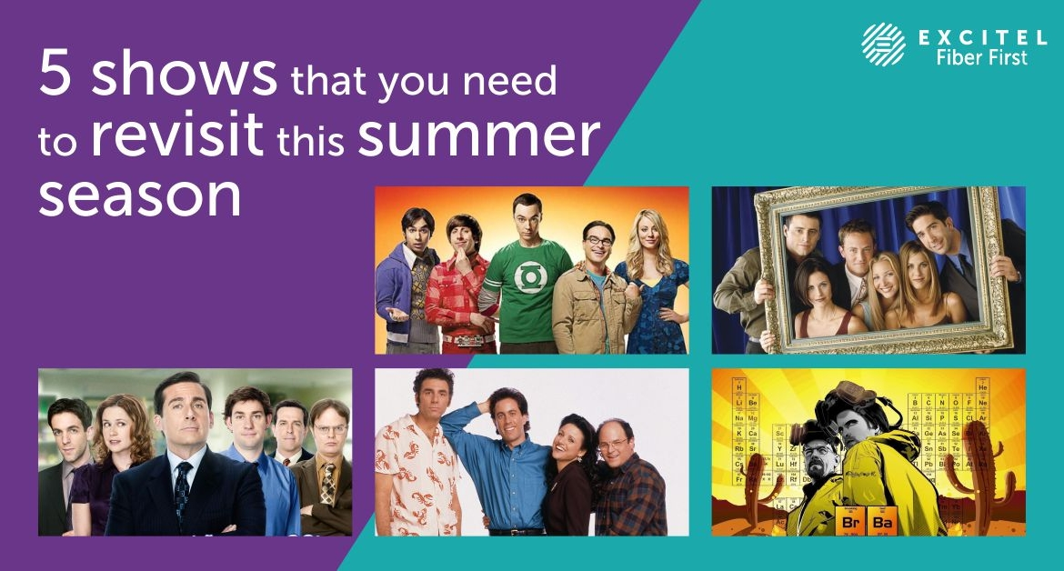 5 shows that you need to revisit this summer season